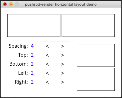 Layout example