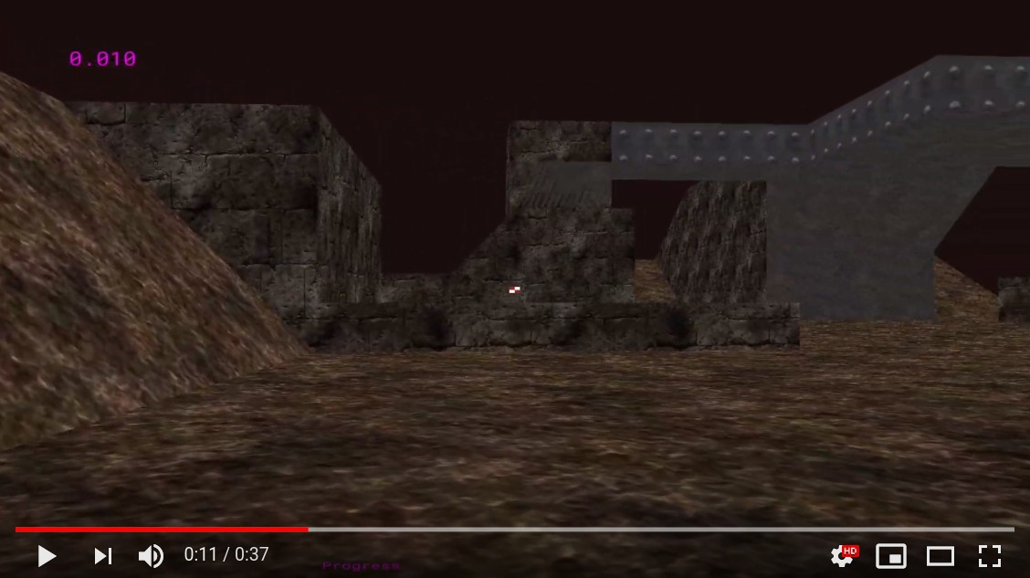 Video demo of the current progress