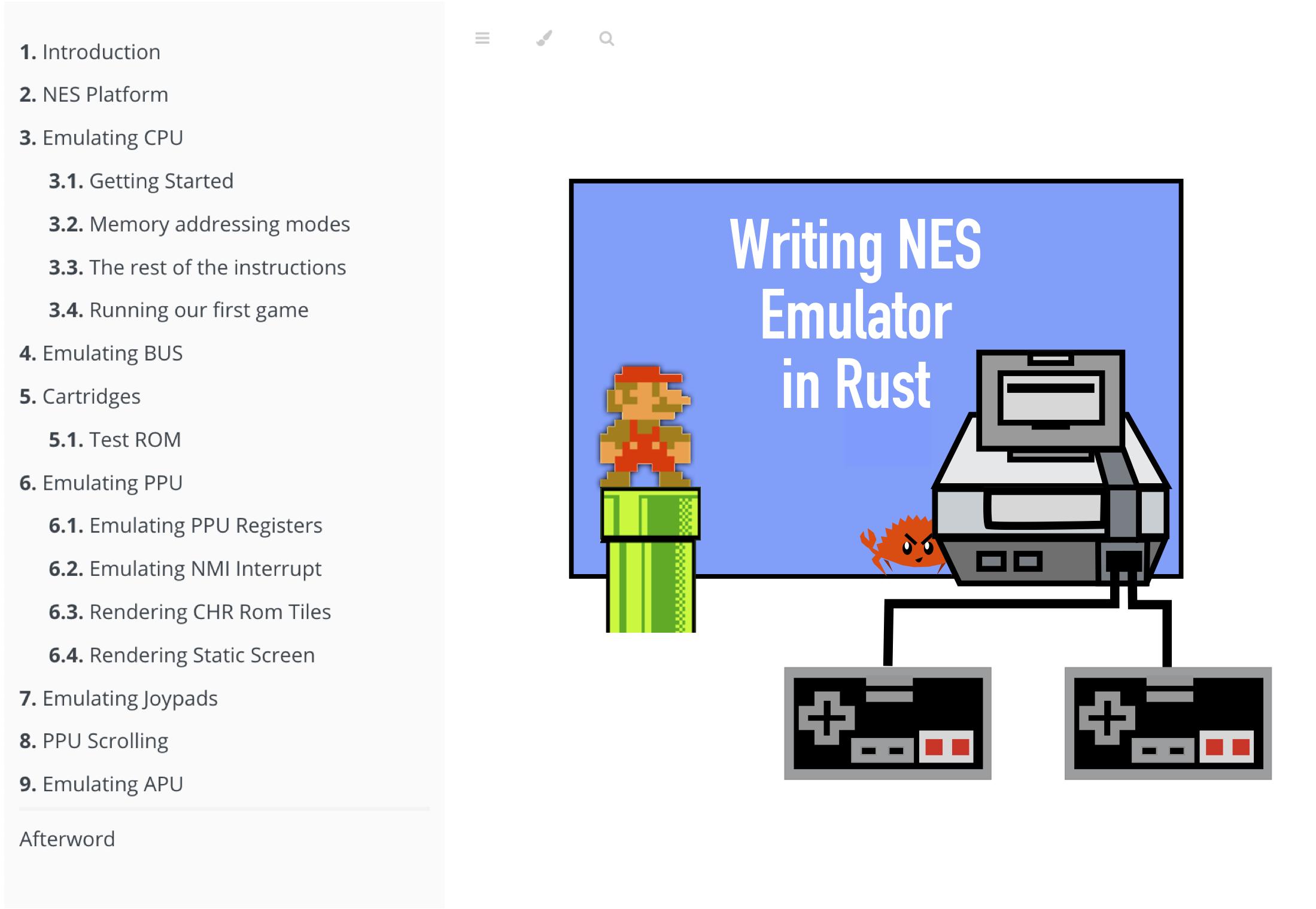 writing nes emulator
