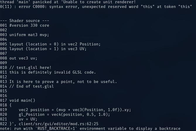 An OpenGL preprocessor for Rust