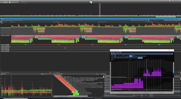 Screenshot of Optick Profiler