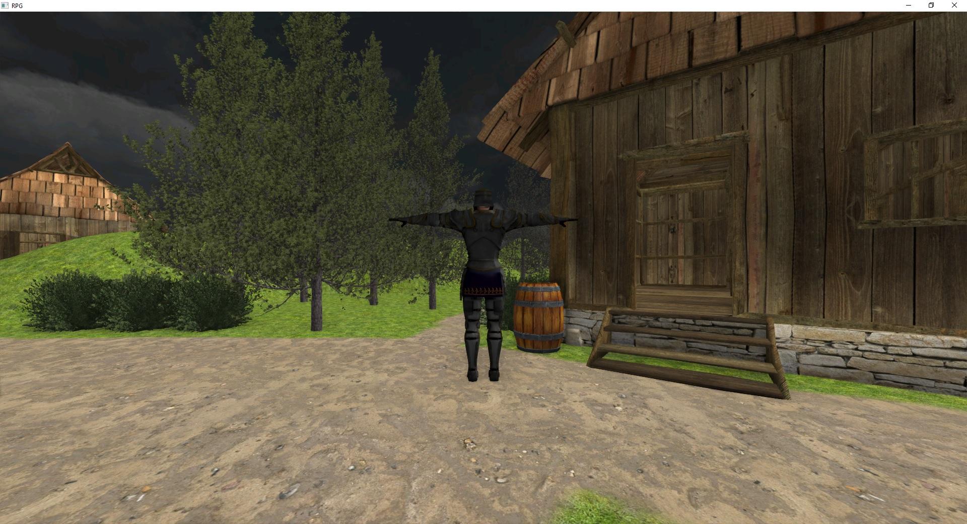 rg3d RPG screenshot
