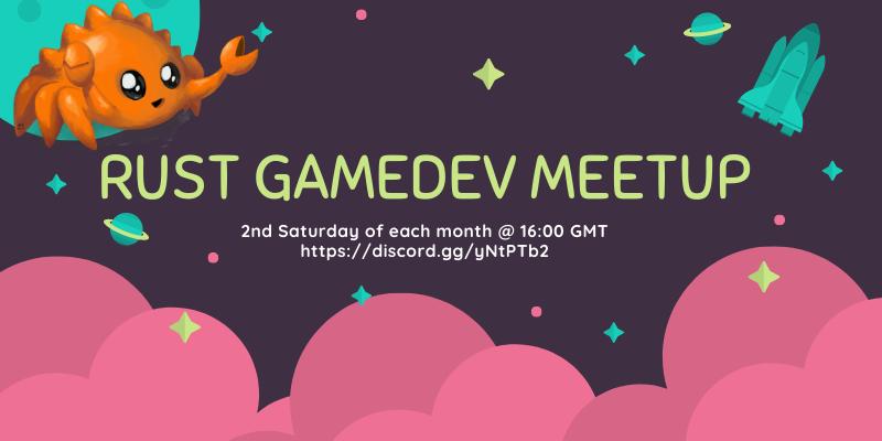 Gamedev meetup poster