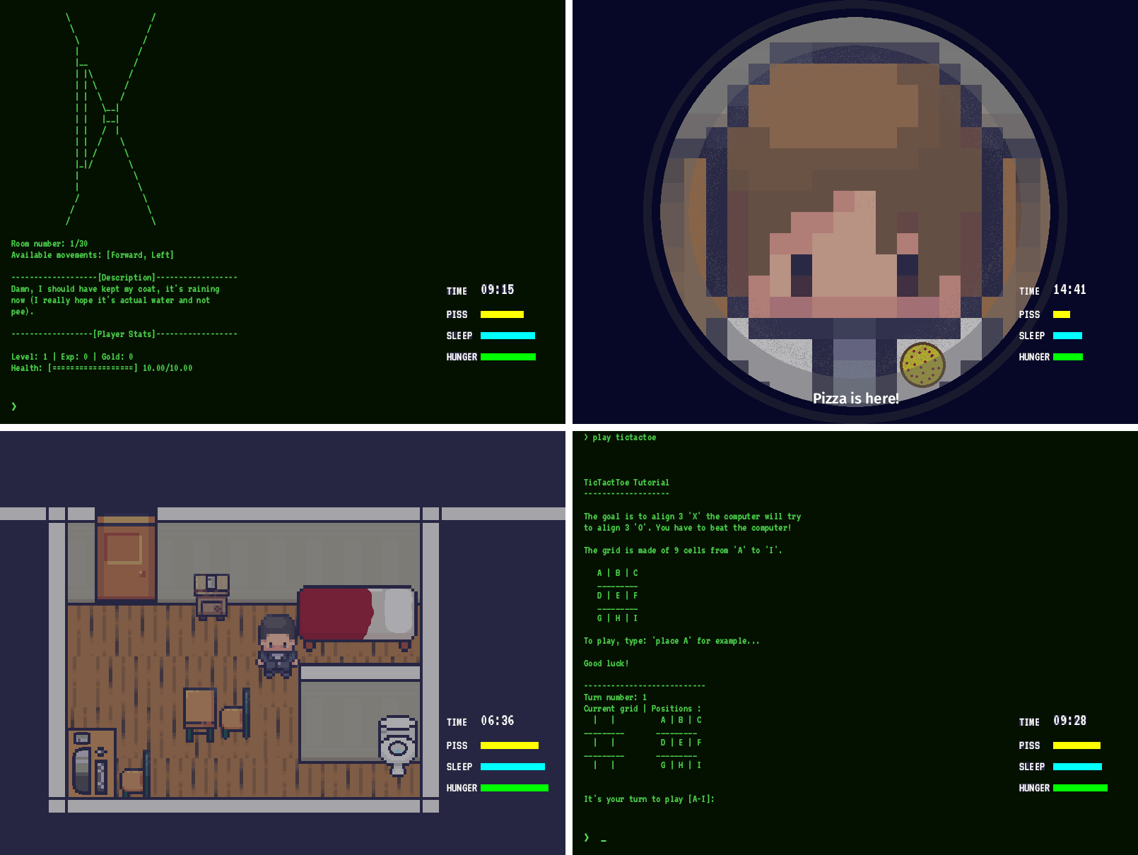 Murder-User Dungeon gameplay screenshots