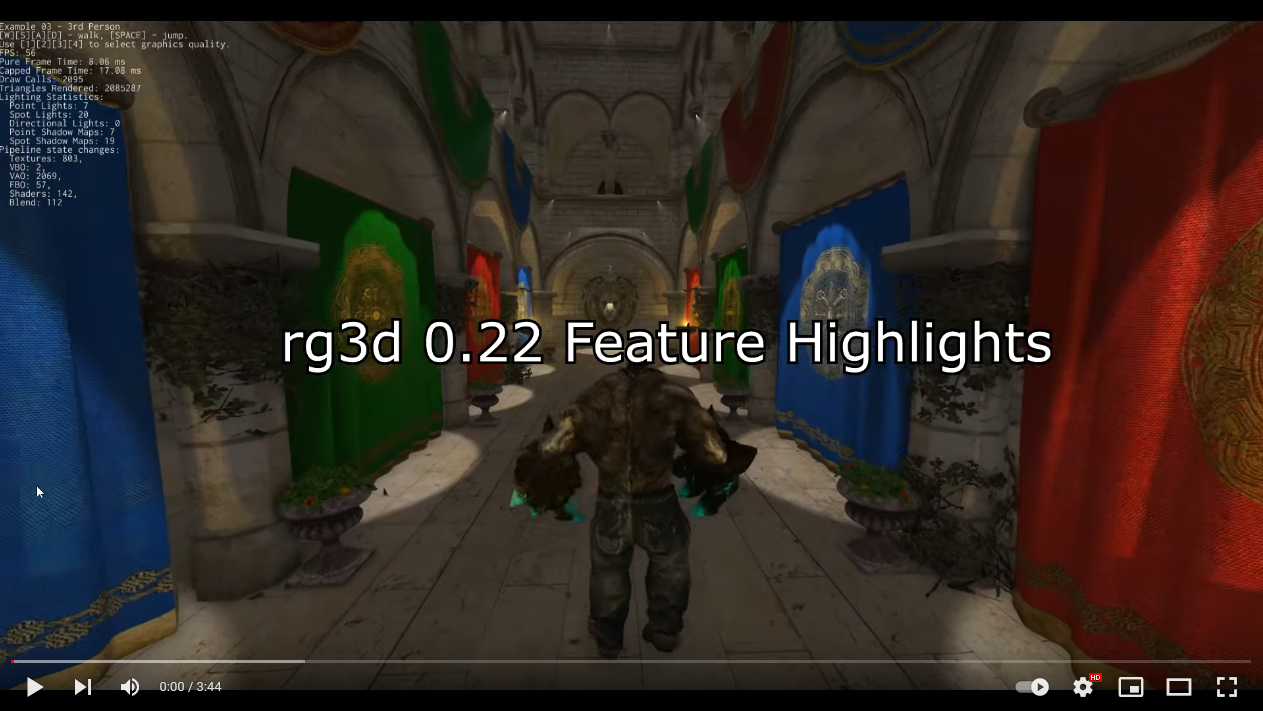 rg3d feature highlights